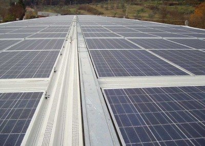 Photovoltaic system for PRESS PLASTIC