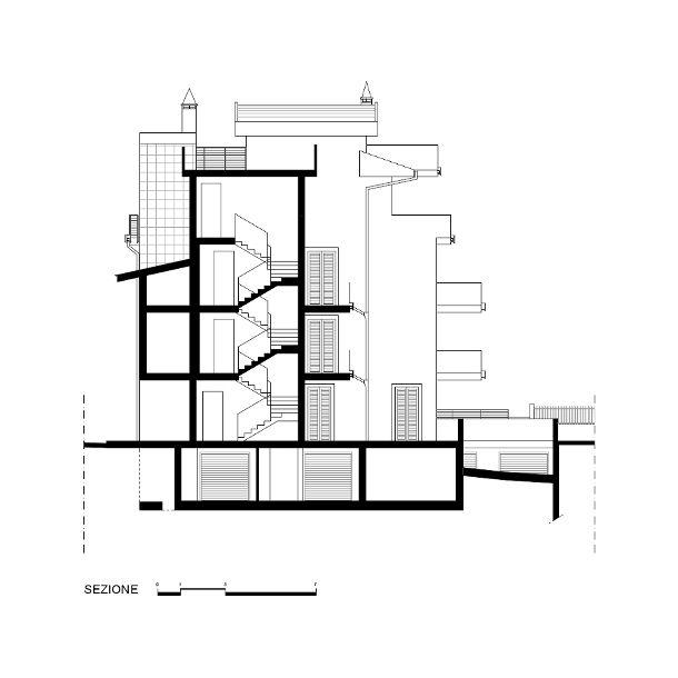 Fabbricato residenziale plurifamiliare studio il laboratorio for Laboratorio con alloggi
