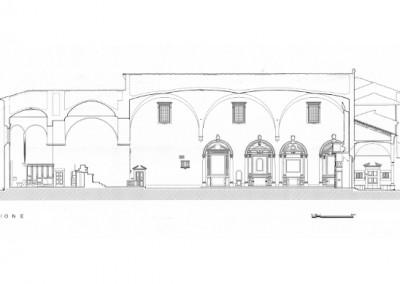 New lighting system of the church of Santa Maria a Ripa