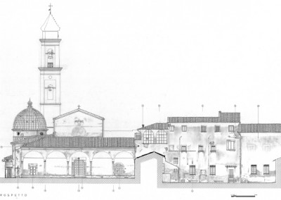 Restoration project of the fronts of the church of Santa Maria a Ripa